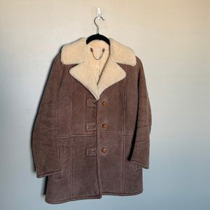 Langmore vintage genuine lambskin coat medium